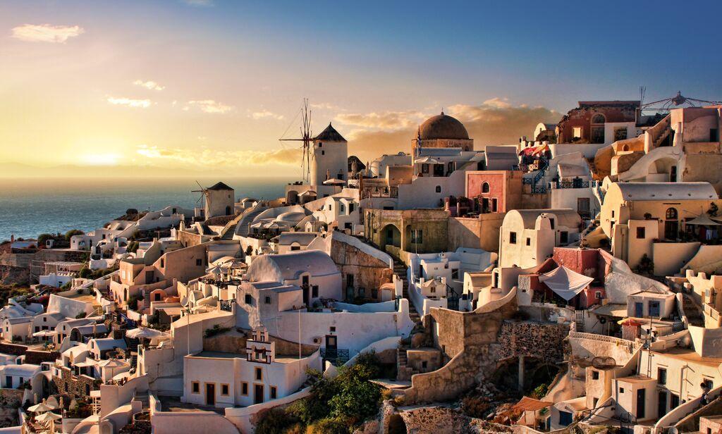 سانتورینی، یونان